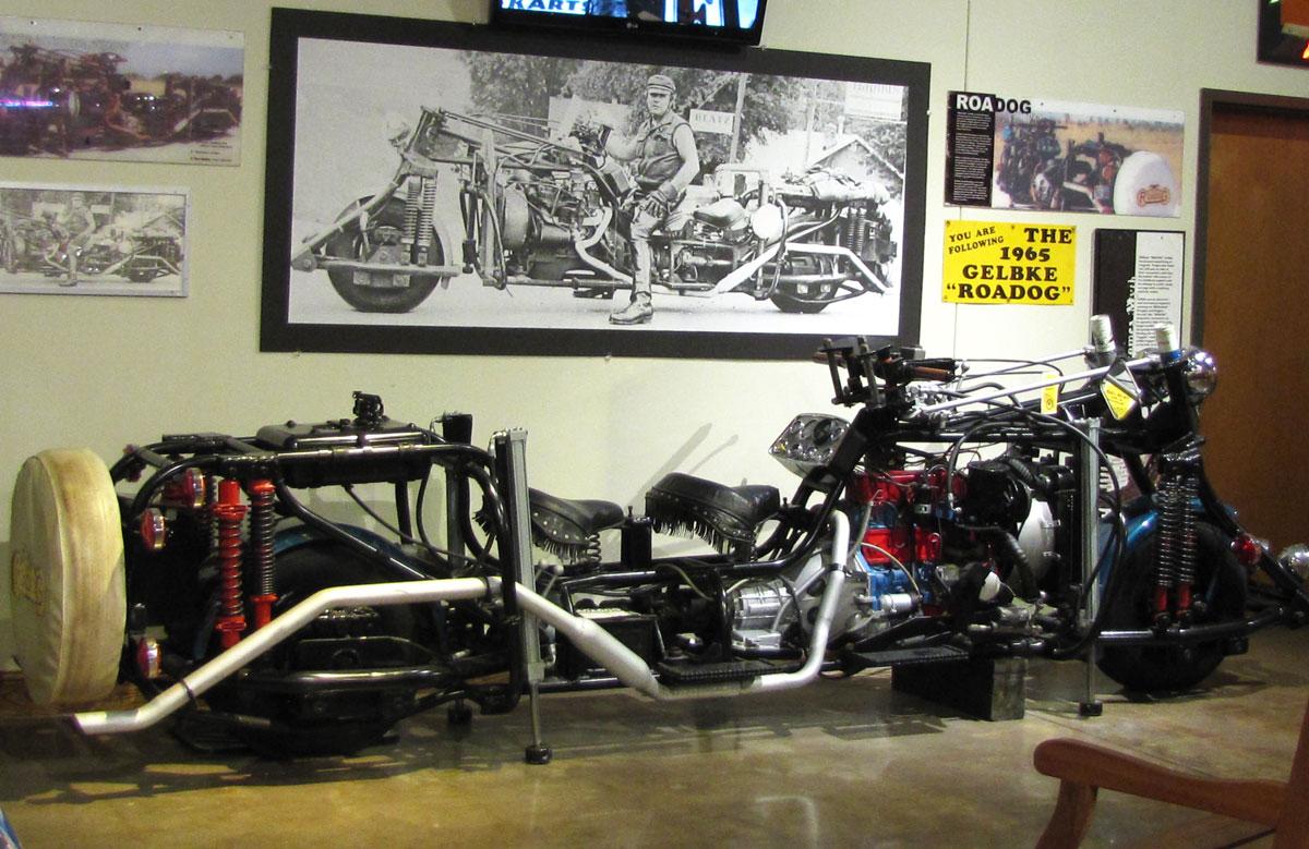 The RoaDog custom motorcycle